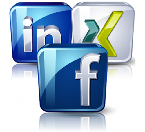 Facebook and Xing